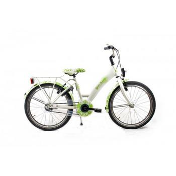Bike Fun Girls Fun 20inch wit-groen meisjesfiets
