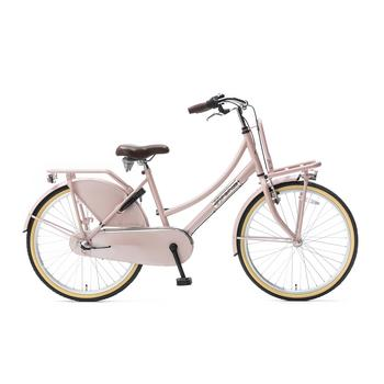 Popal Daily Dutch Basic Plus 24inch zalm Transportfiets