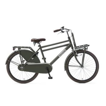 Popal Daily Dutch Basic Plus 24inch army-green Jongens Transportfiets