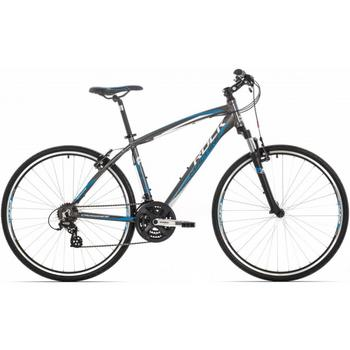 Rock Machine Crossride 100 antracietblauw 46cm Crosshybride