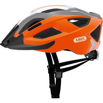 Abus Aduro 2.0 L race orange MTB helm