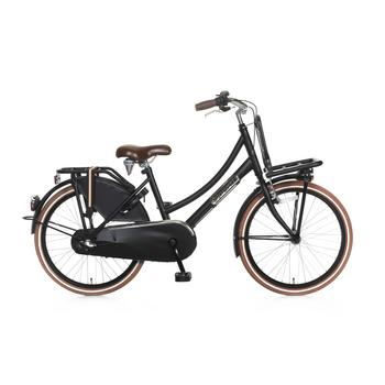 Popal Daily Dutch Basic Plus 22inch matzwart Transportfiets