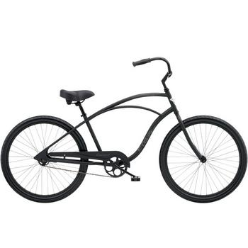 Electra Cruiser 1 Men's 26inch matte black herenfiets