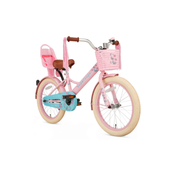 SuperSuper Little Miss 18inch roze meisjesfiets