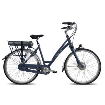 Vogue Solution N8 blauw elektrische damesfiets