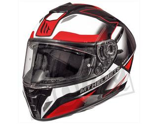 Helm FUGUE MT Integraal 2 Vizieren Zwart/Rood/Wit  S, M, L, XL, XXL