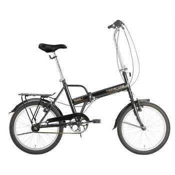 Hollandia Travel U44 zwart vouwfiets