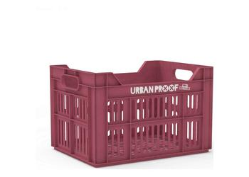 Urban Proof fietskrat 30 liter Warm pink Recycled