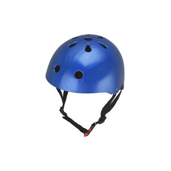 Kiddimoto metallic blue Medium helm