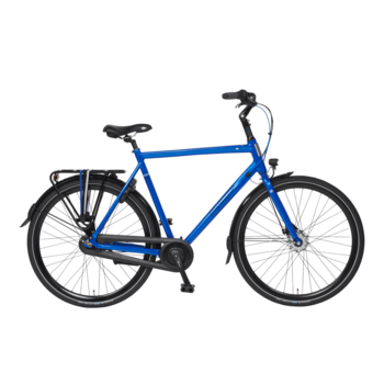 BSP Voyager N7  zomer blauw glans 56cm herenfiets