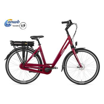 Popal E-volution 5.0 wine-red 50cm elektrische damesfiets