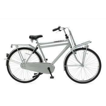 Popal Daily Dutch Basic 57cm grijs heren transportfiets