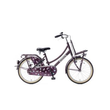 Popal Daily Dutch Basic 20inch paars Transportfiets