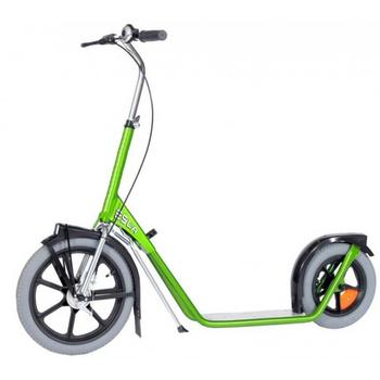Esla Scooter 4102 green bedrijfs step