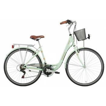 Excel Central Park 18-speed groen 43cm damesfiets