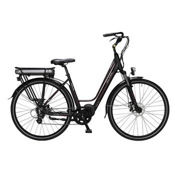 Altec Travel 8-spd zwart elektrische damesfiets