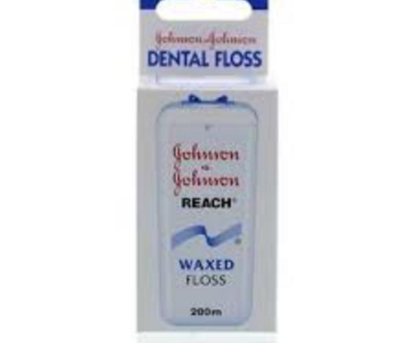 johnson-johnson-reach-floss-waxed 200 meter