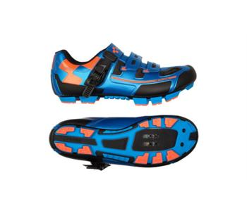 Cube Shoes Mtb Pro Blue´N´Flashred