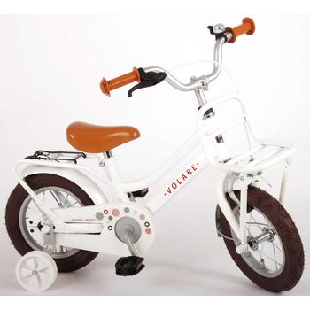 Volare Liberty Transport 12inch wit meisjesfiets