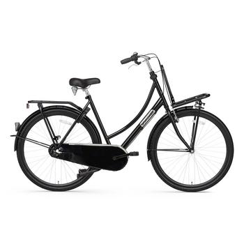 Popal Daily Dutch Basic Plus 50cm glanszwart Transportfiets