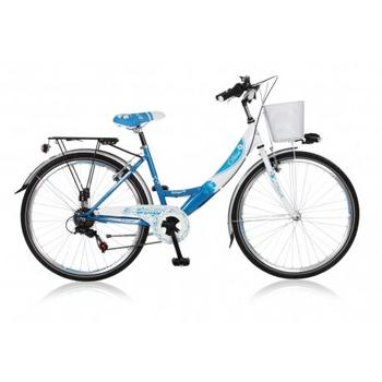 Wings Diva 6-speed 20inch blauw meisjesfiets
