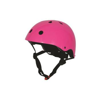 Kiddimoto neon roze Medium helm