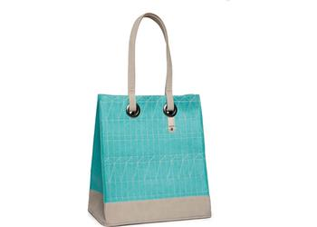 Cortina Minsk Basket Bag felt Azure Blue