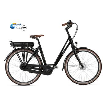 Popal E-volution 5.0 shiny-black 47cm elektrische damesfiets