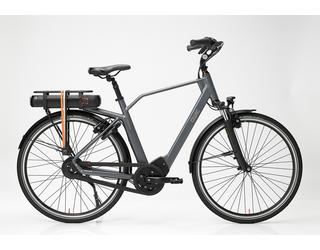 Qwic E-bike Premium MN330 Tour Heren  Middenmotor Graphite